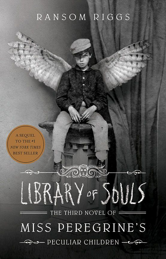 The Library of Souls! I've been waiting for this for so long! It's the third book of Ransom Riggs' series of Miss Peregrine's Home for Peculiar Children