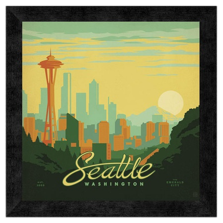 Seattle Wall Art 306 best northwest art images on pinterest | washington state