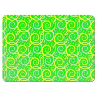 Curly Green Placemats (Set of 4)