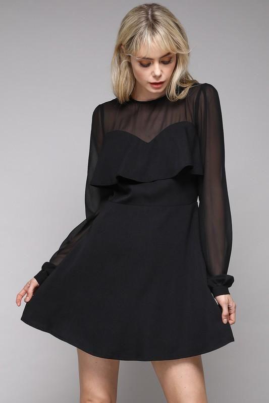 By Smith: Bastille Dress, Black - Elise  |Bastille Dress