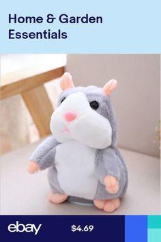 Stuffed Animals & Plush Repeated Talking Hamster Speaking Plush Toys Electronic Stuffed Animals For Children Girls Boys Baby Tiara