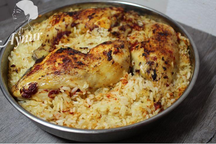 In der türkischen Küche wird sehr viel in diesen runden bleck im Ofen gebacken, das ist ein Klassiker aus der türkischen Küche. aus der türkischen Küche. PS: Für mehr Geflügel oder Reis Rezepte sc…