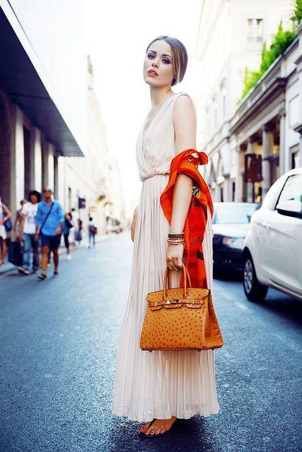 ilkbahar yaz modası uzun elbiseler 2016 7