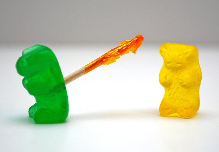 BackstabberGreen Beary, Gummy Bears, Candies Art, Art Prints, Crummi Gummy, Yellow Bears, Bloody Backstabbers, Funny Stuff, Food Crushes