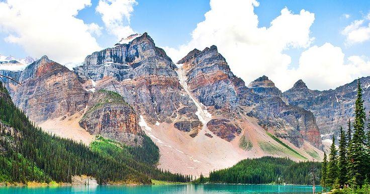 Montanhas Rochosas Canadenses #viagem #canada #viajar