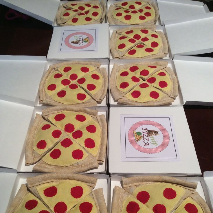 Catnip pizzas for all kitties! Get it now with a special coupon for Valentine's Day!  Write coupon code: BMINE for 10% off your purchase of 8.00 CAD or more! ❤️