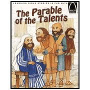 Parable of the Talents in the Bible in  Matthew 25:14-30
