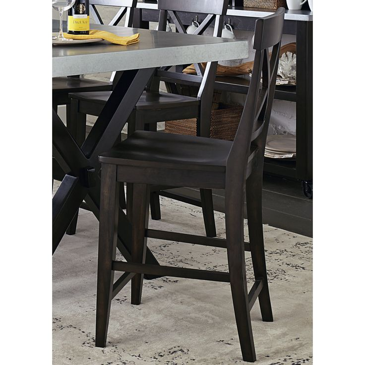 Keaton Charcoal 24 Inch Barstool | Overstock.com Shopping - The Best Deals on Bar Stools