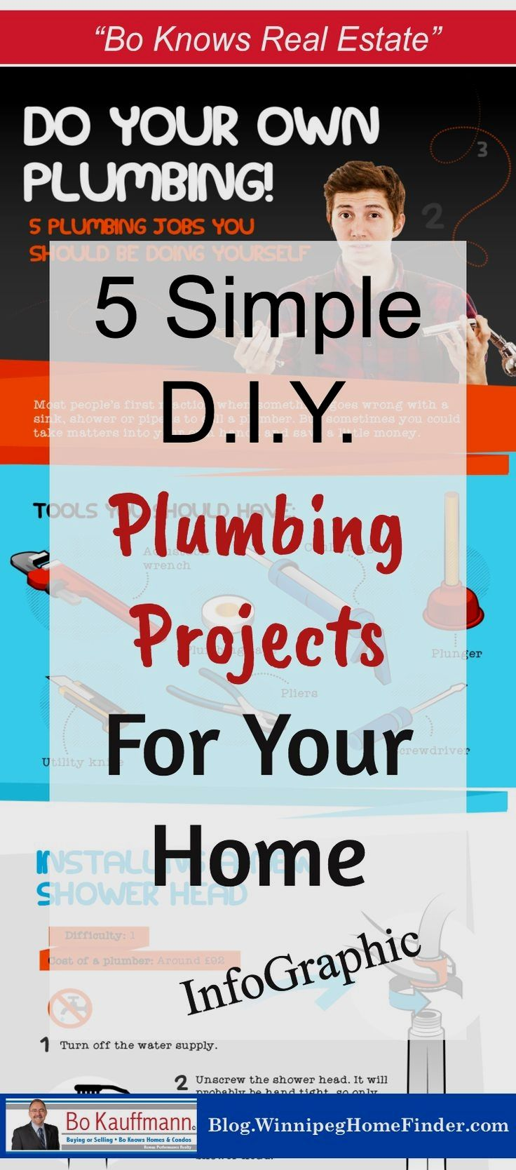 5 simple plumbing projects you can do yourself homeowner plumbing 5 simple plumbing projects you can do yourself homeowner plumbing projects diy infographic 5 solutioingenieria Choice Image