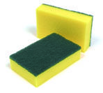 Shop Heavy Duty Catering Sponge Scourers,£5.20 1 x 10 scourers suitable for heavy duty catering cleaning,professional kitchens and washrooms from SK Catering Supplies.