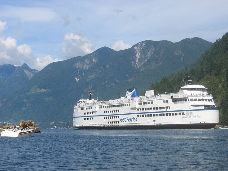We'll be taking the ferry from Horseshoe Bay, in West Vancouver, BC, to Nanaimo as part of our YukonHo! road trip.