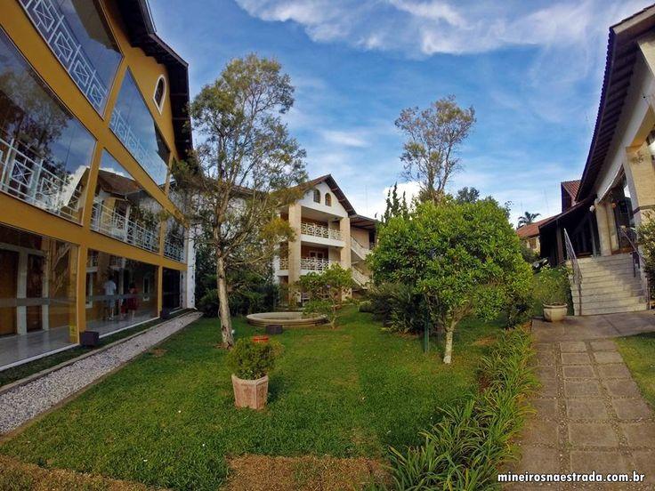 Prédio onde ficam algusn dormitórios do Monreale Hotel Resort, em Poços de Caldas.