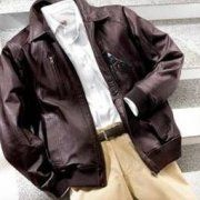 Leather jackets for men and women - ends of lines