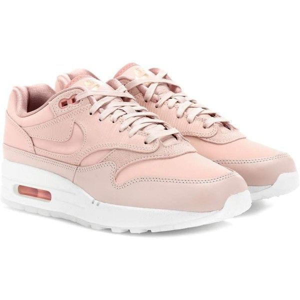new arrival 50af1 24d3a Nike Nike Air Max 1 Premium Sneakers ( 165) ❤ liked on Polyvore featuring  shoes, sneakers, pink, nike sneakers, pink sneakers, nike footwear, nike  shoes ...