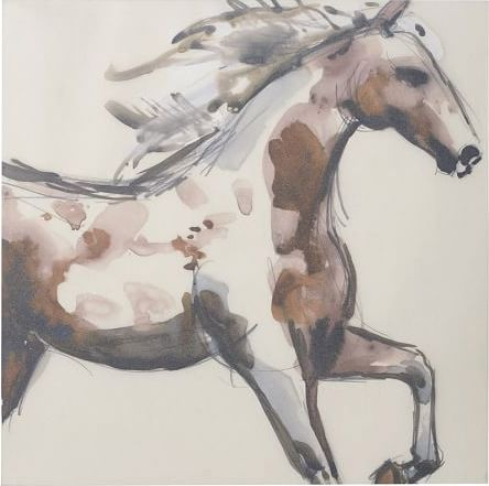 Dream Dining: Pottery Bard Equestrian Painting