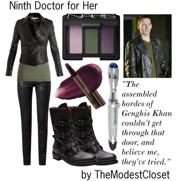 Doctor Who - The Ninth Doctor for Her by themodestcloset on Polyvore
