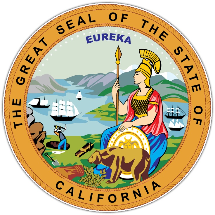 California, Seal of the State of States I Have Lived In