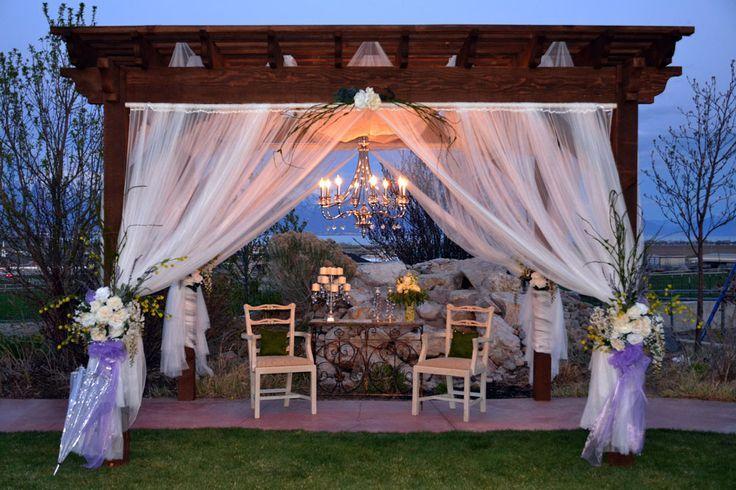 Gazebo, Pavilion, Pergola or Arbor Plan for Wedding