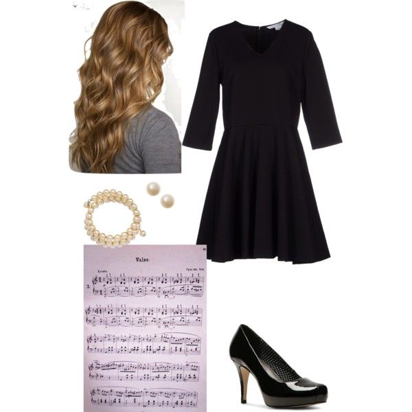 Piano competition/recital outfit. Competition Cutie by all-american-nerd on Polyvore featuring Diane Von Furstenberg, Madden Girl and John Wind