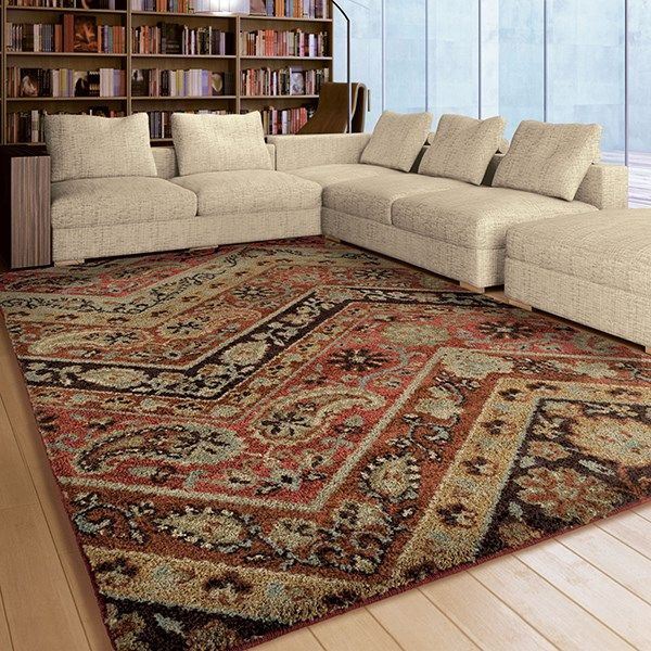 Orian Rugs American Heritage Paisley Point Rugs   Rugs Direct