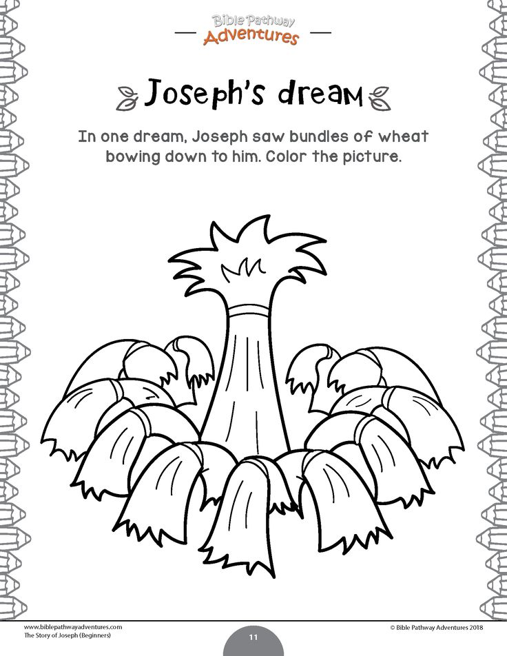 The story of Joseph Activity Book: Beginners in 2020