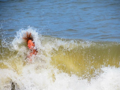 Slammed By The Waves Sent In Brandy Williams Grottoes Rehoboth Beachbeach