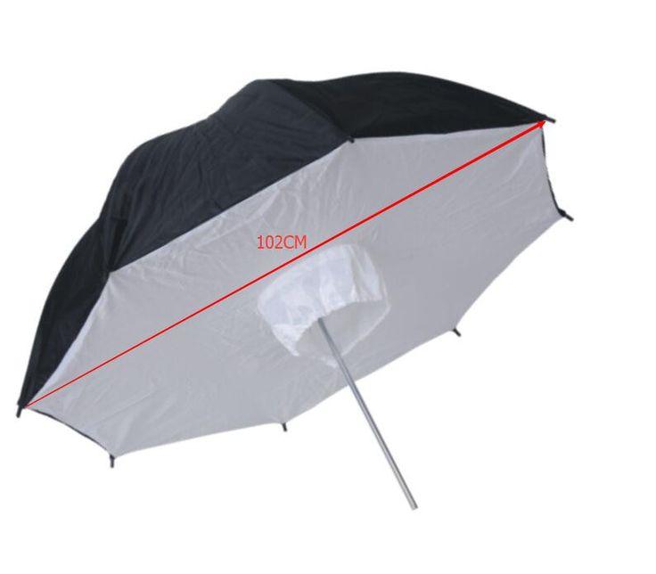 Зонт - софтбокс на отражение NiceFoto SBUB-40 диаметром 102 см