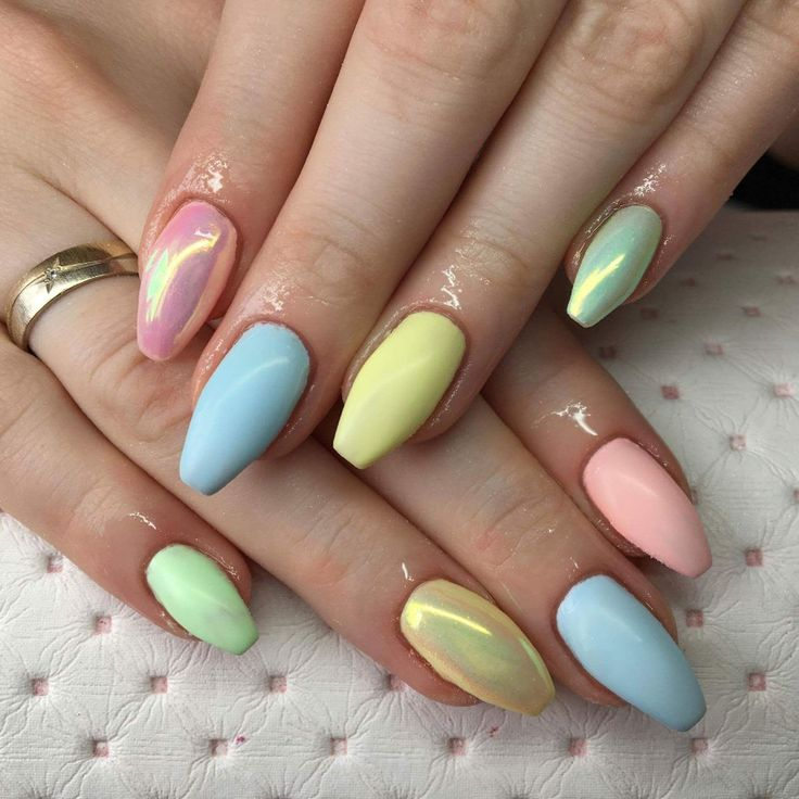 Nails full of colors perfect for summer 2017 kolorowe paznokcie matowe lato 2017 pastele