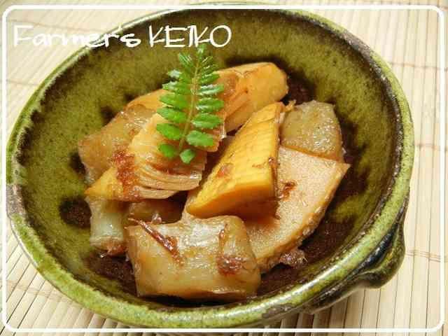 【農家のレシピ】タケノコの土佐煮の画像