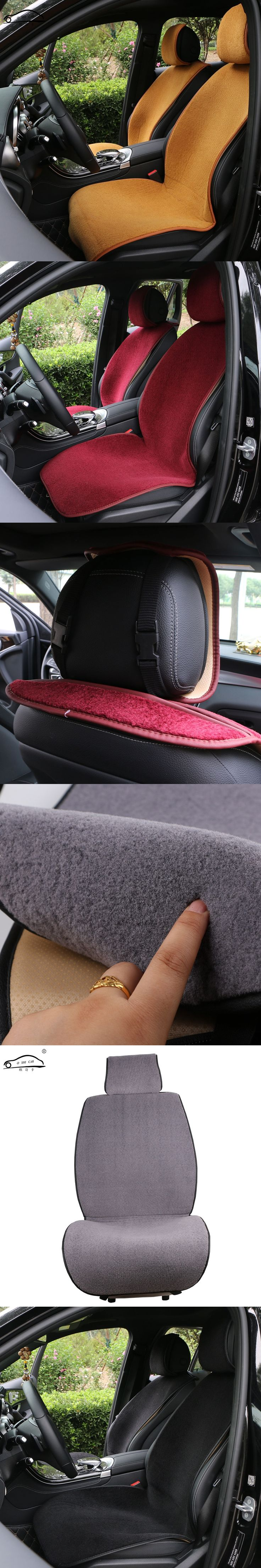 1 PCS Winter Car Seat Cover/Artificial cashmere Auto cushion Warm and comfortable/non-inverted velvet Car seat cloak