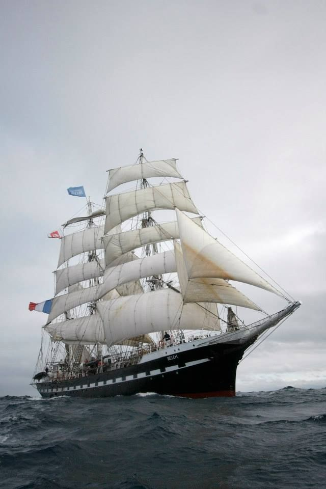 """""""If you want to build a ship, don't drum up the men to gather wood, divide the work and give orders.. Instead, teach them to yearn for the vast and endless sea."""" - Antoine de Saint-Exupery. Le Belem"""
