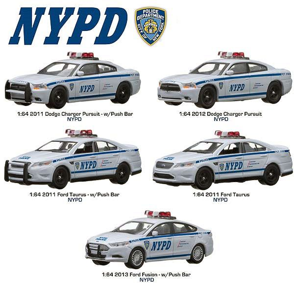 Greenlight Machines Auto World Hot Wheels More Whats New In Diecast :  Greenlight Collectibles NYPD City Of New York Poli.