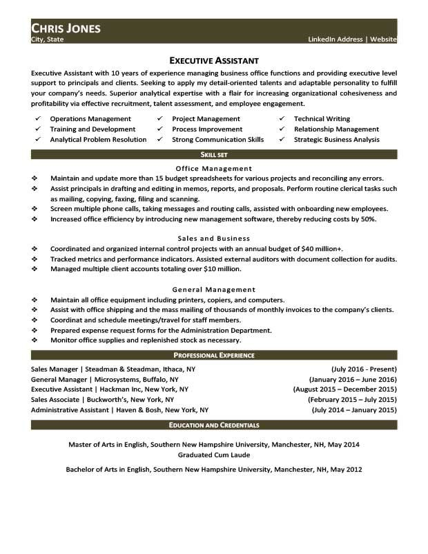 Career Life Situation Resume Templates With Images Job