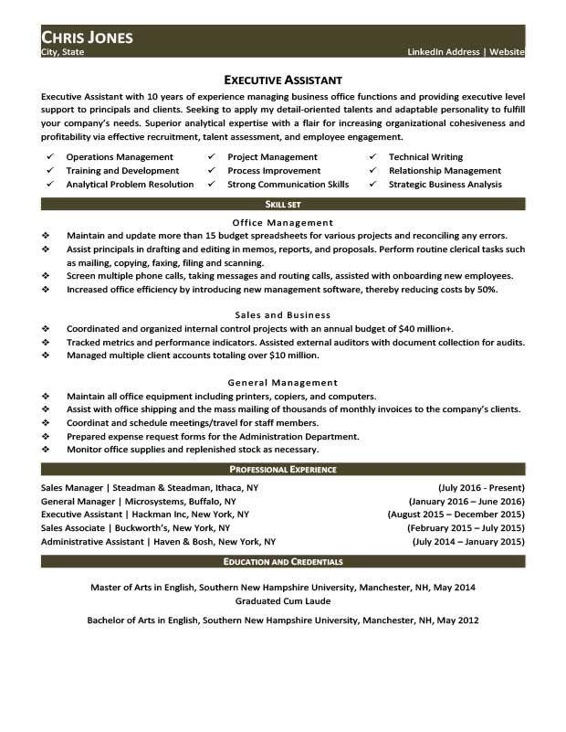 Forest Green Job Hopper Resume Template