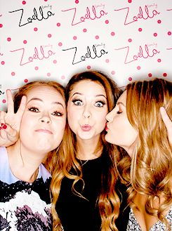 Tanya, Zoe & Niomi!