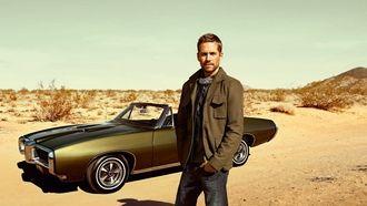 пол уокер, машина, пустыня, песок, мужчина, актер, paul walker