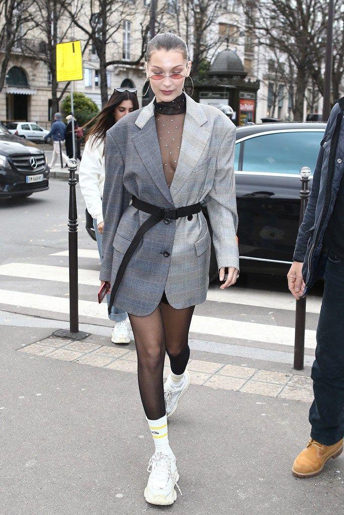 Adidas Yeezy Boost 500 Salt Balenciaga Looks Fashion Bella