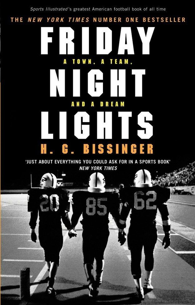 Friday Night Lights by H. G. Bissinger | 33 Must-Read Books To Celebrate Banned Books Week OWN