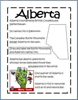CANADA UNIT SYMBOLS AND GEOGRAPHY - TeachersPayTeachers.com