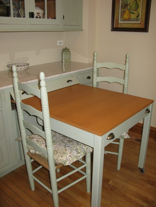 Pull Out Kitchen Table 64 best decor - hidden tables images on pinterest | fold down