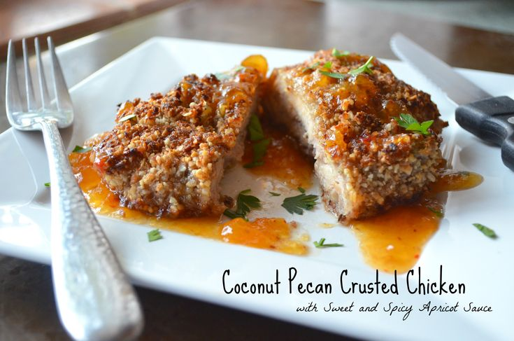 Coconut Pecan Crusted Chicken