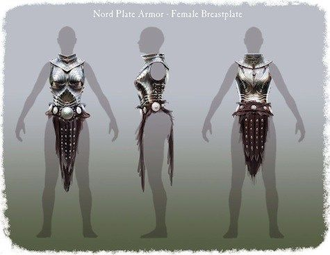 Never mind the chainmail bikinis—what about those awkward breast plates in armor that we see frequently in fantasy artwork and at the Ren Faire? Whenever women complain about this convention, they …