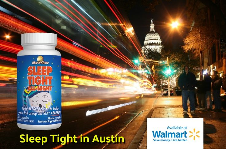 Sleep tight in Austin with Rise-N-Shine's all-natural Sleep Tight All-Night! Now available in Walmart stores! Andrew Nourse Flickr Photo  #walmart #texas #risenshine #wakeupontime #stayupallday #sleeptightallnight #dontmesswithtexas #dontmesswithtx #texasstrong #allnatural #nutritionalsupplements #sleep #night #rest #melatonin