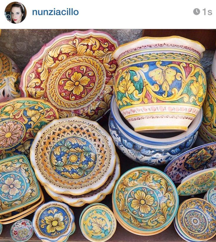 ceramica siciliana.
