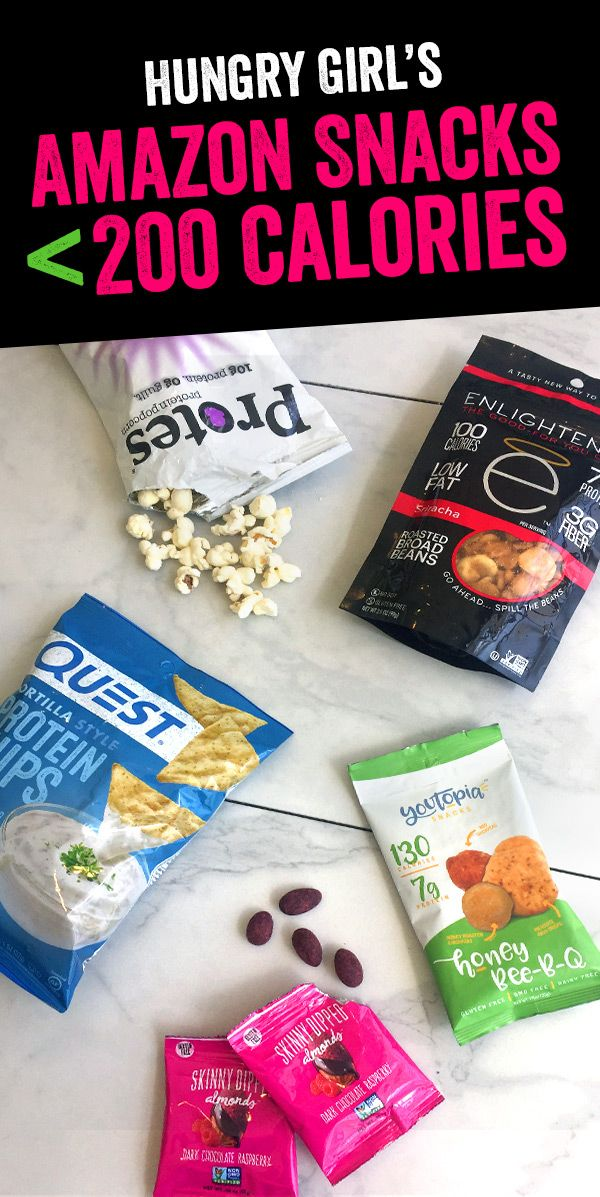 9 Amazon Snack Finds Under 200 Calories | AMAZON FINDS YOU