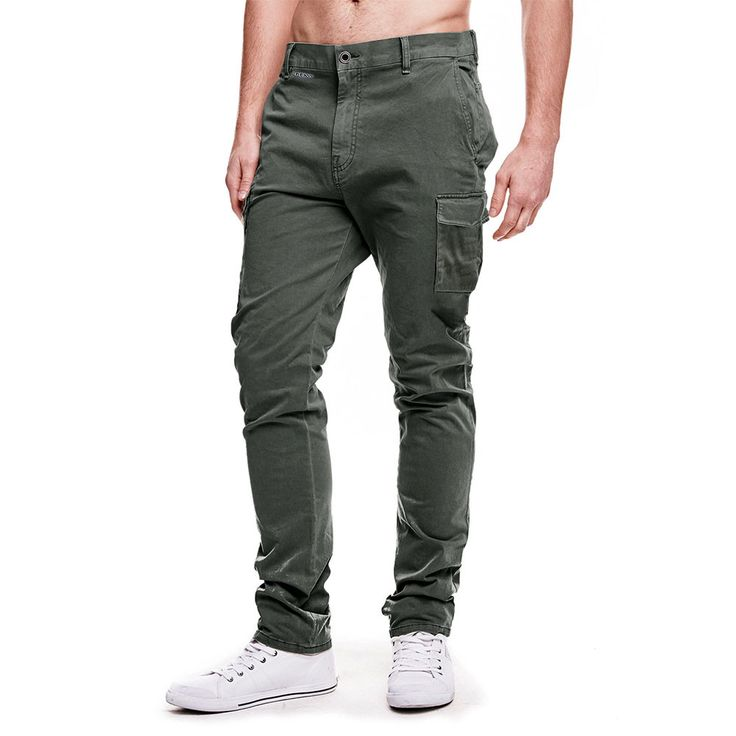 Guess Arcodic Slim Fit Cargo Pants   #elo #exportleftovers #polorepublica