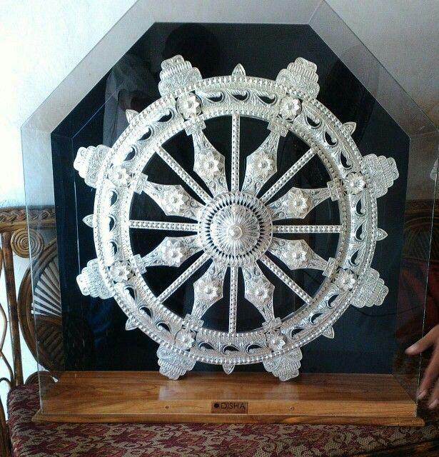 Silver filigree, Konark wheel