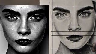 how to draw faces easy - YouTube