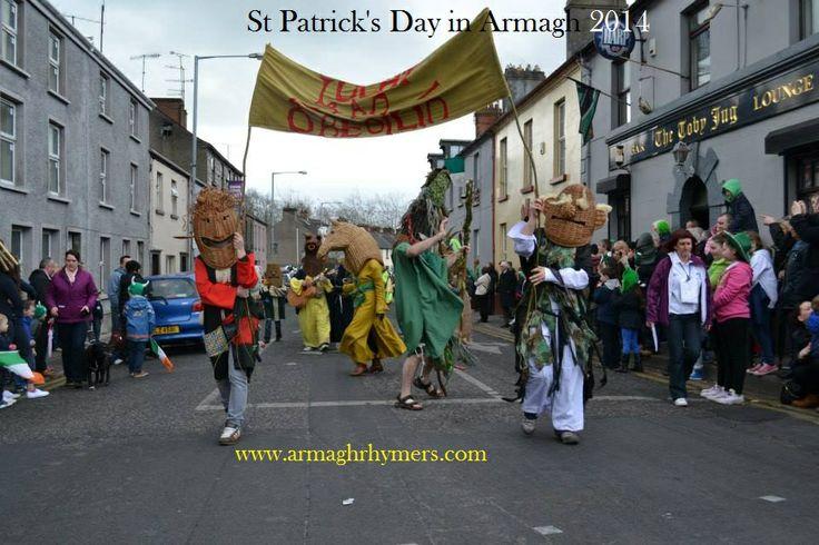 Irish St Corner, Armagh - St Patrick & the Horse