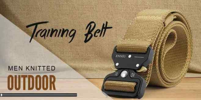 Male Outdoor Tactical Training Nylon Belt with Cobra Buckle GearBest Coupon
